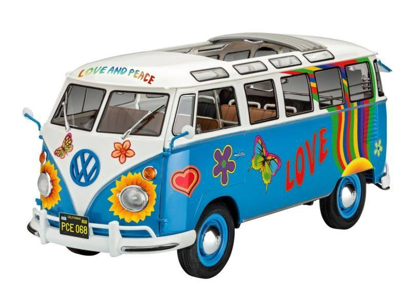 Revell 07050 VW T1 Samba Bus Flower Power