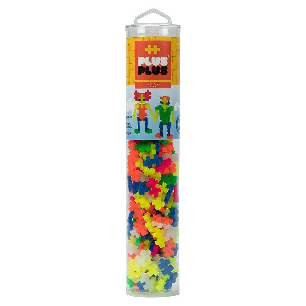 Plus-Plus 240-Piece Neon Mix Tube