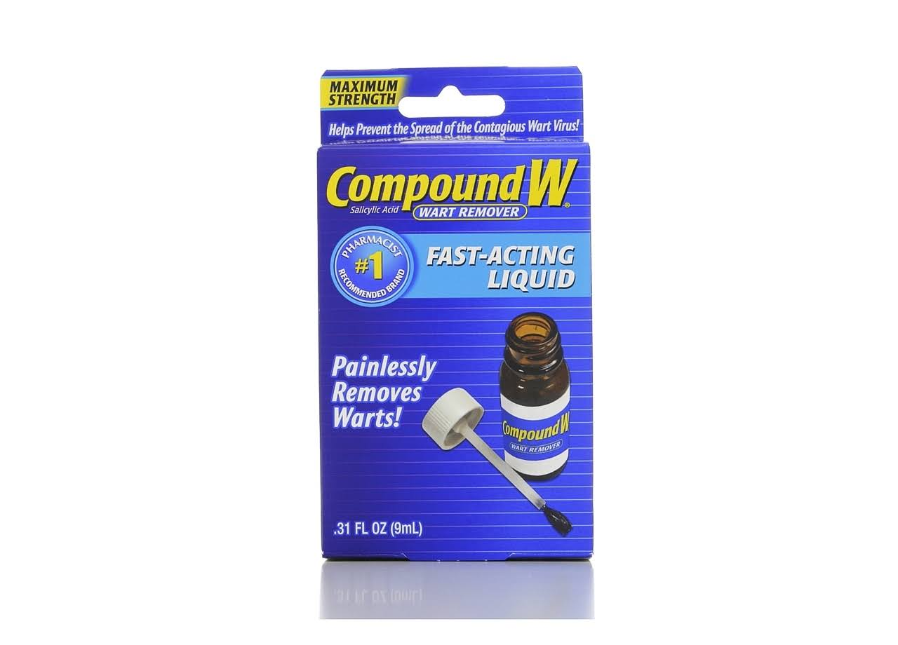 Compound W Wart Seal Maximum Strength Fast Acting Liquid Wart Remover - 9ml