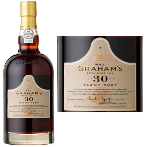 Graham's 30 Year Tawny Porto - 750 ml bottle