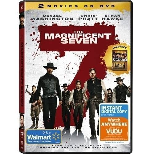The Magnificent Seven/Silverado (Walmart Exclusive) (Widescreen) DVD