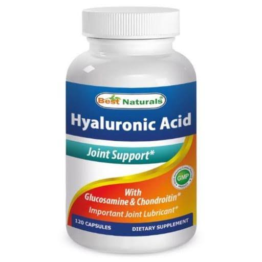 Best Naturals Hyaluronic Acid Supplement - 100mg, 120ct