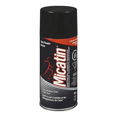 Micatin Athletes Foot Jock Itch Ringworm Antifungal Spray Powder