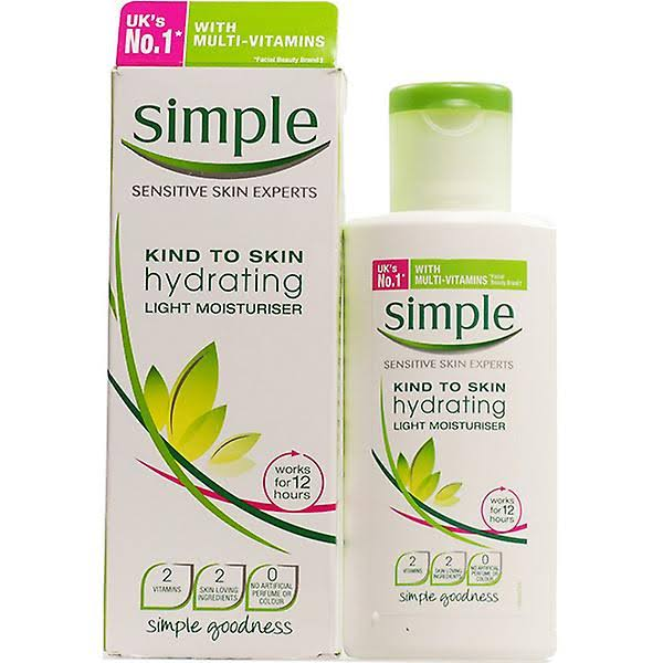 Simple Kind To Skin Hydrating Light Moisturiser - 125ml