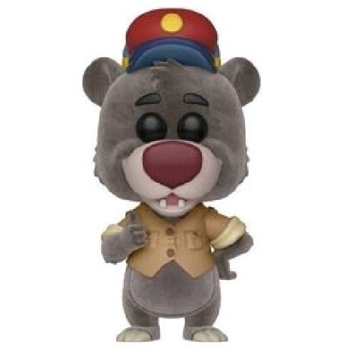 Funko Pop Disney Talespin Baloo Flocked Vinyl Action Figures