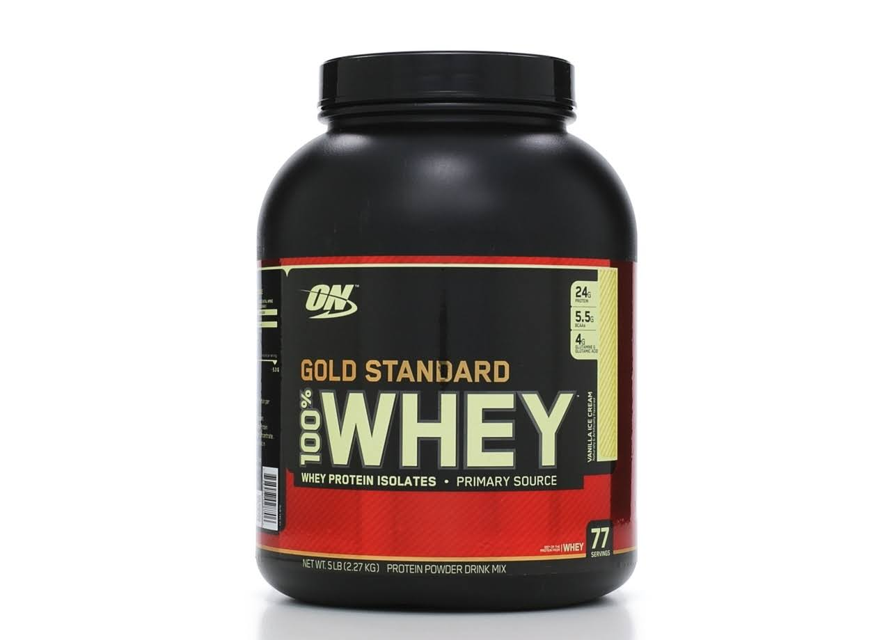 Optimum Nutrition 100% Whey Gold Standard Whey Protein Isolates
