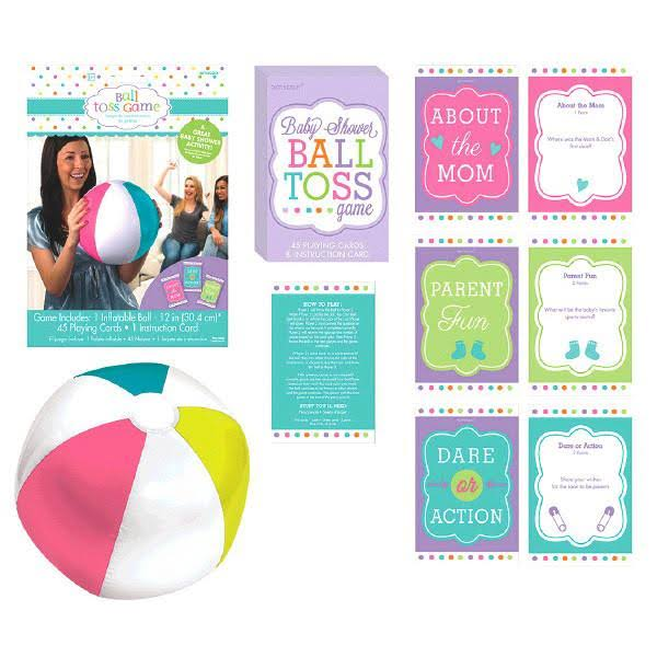 Amscan Baby Shower Ball Toss Party Game Kit