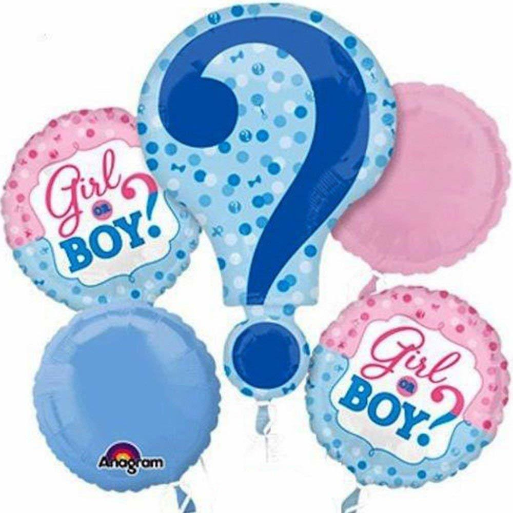 Anagram Gender Reveal Balloon Bouquet