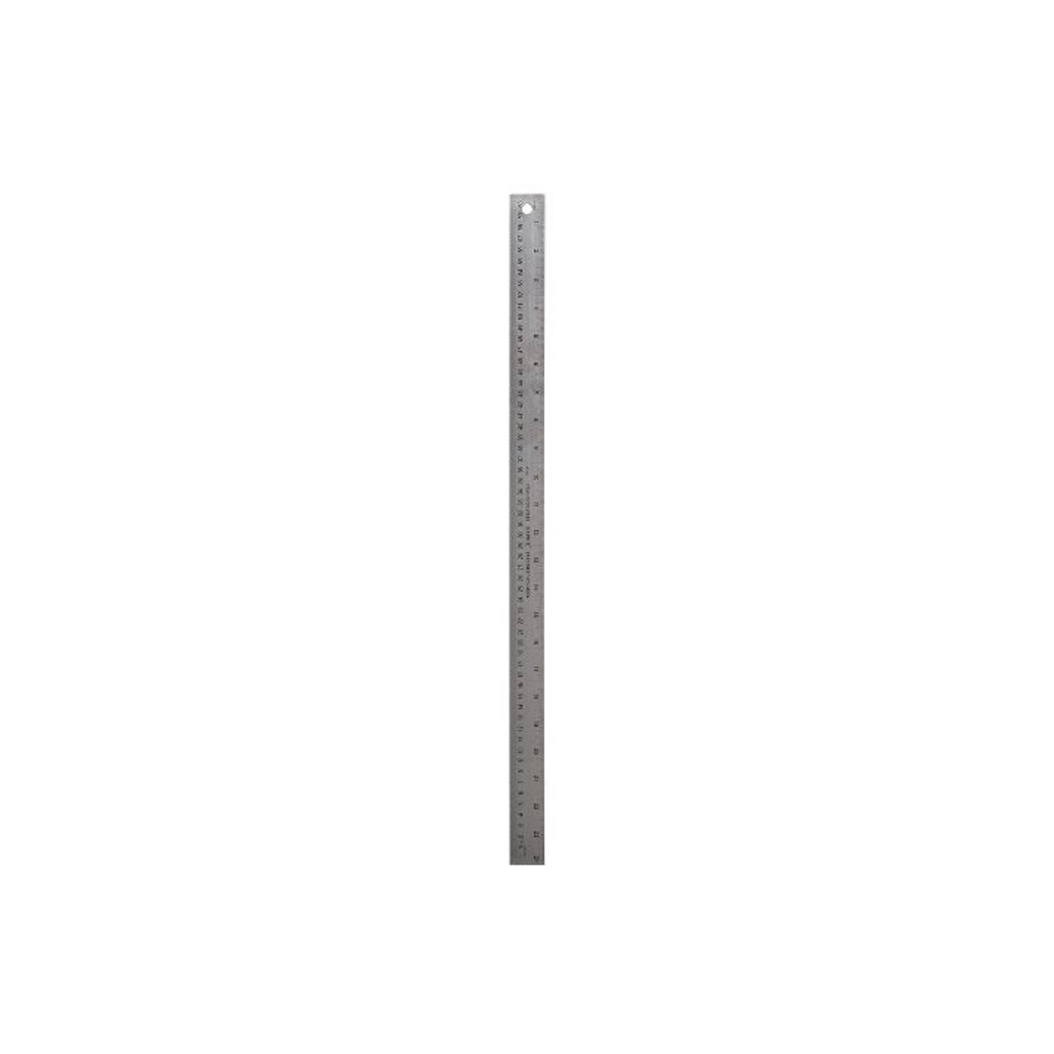 Darice 97305 Stainless Steel Ruler, 24-Inch
