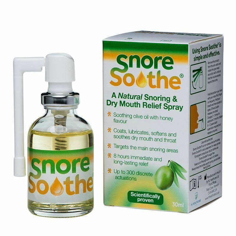 Snore Soothe Snoring & Dry Mouth Relief Spray - 30ml
