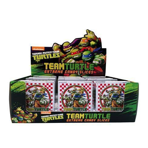 Teenage Mutant Ninja Turtle Exteme Candy Slices Tin - 1.2 Oz