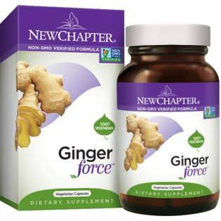 New Chapter Ginger Force Vegetarian Capsules - 60 Cpsules