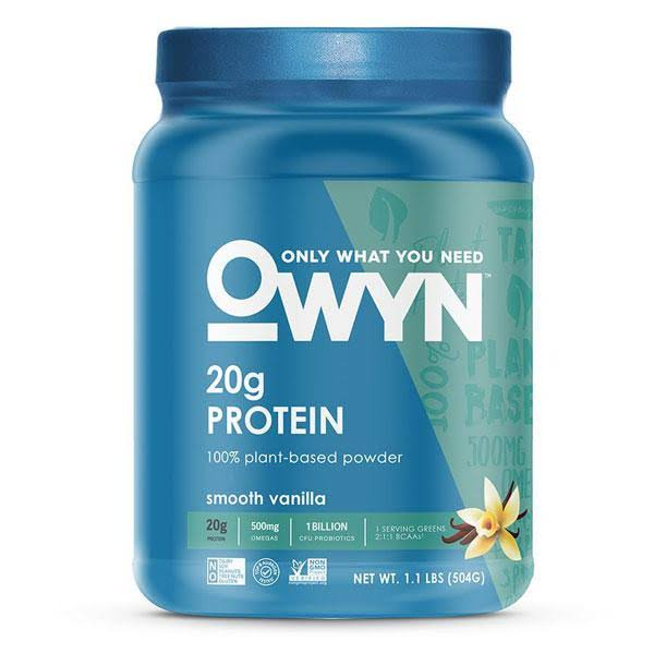 Owyn Plant Protein Powder - Smooth Vanilla, 1.1lb