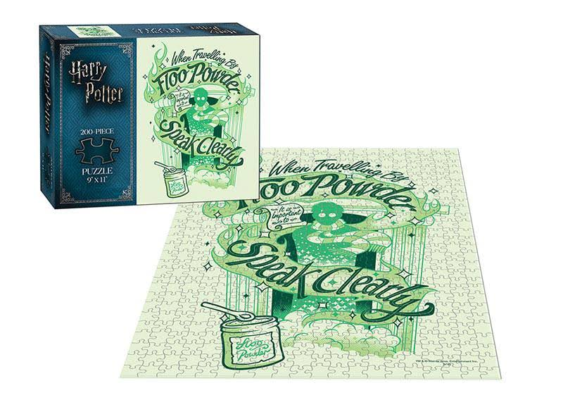 USAopoly Floo Powder Harry Potter 200 Piece Puzzle
