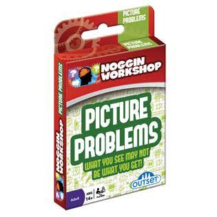 Noggin Workshop Picture Problems Card Game - Ages 14