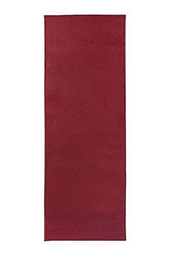 Ritz Accent Rug with Latex Backing, 20-inch by 60-Inch Runner, Red