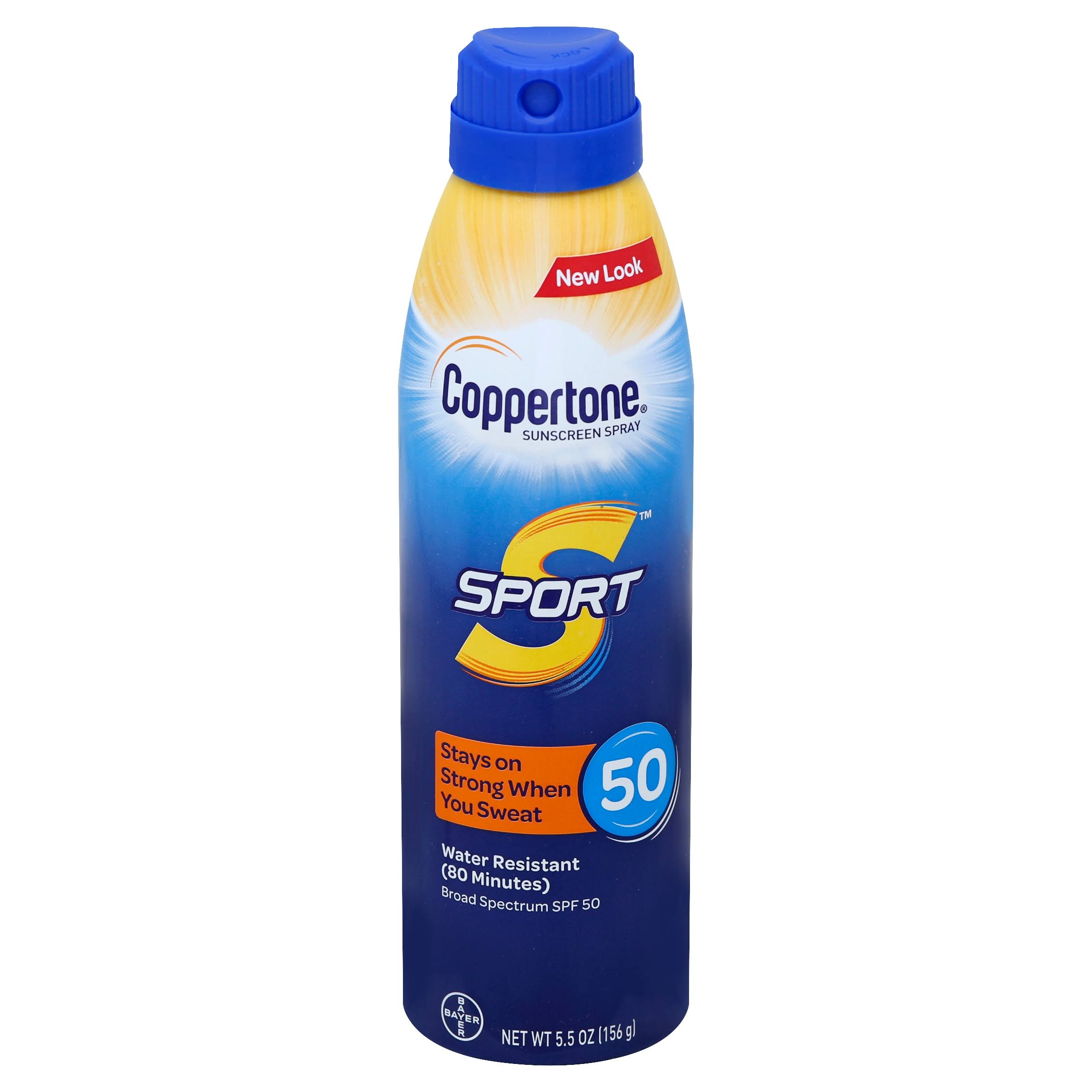 Coppertone Sunscreen Sport SPF 50 Spray - 5.5oz