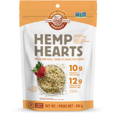 Manitoba Harvest Hemp Hearts Shelled Hemp Seed - 454g