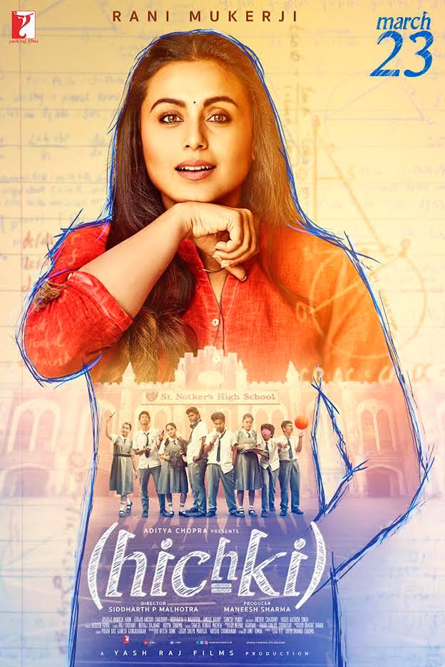 Hichki 2018 Hindi Movie Free Download 720p BluRay