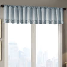 Pink Ruffle Curtain Topper by 2 Curtain Valance Decorate The House With Beautiful Curtains
