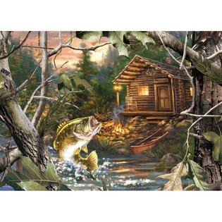 Masterpieces The One That Got Away Realtree 1000 Piece Puzzle