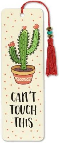 Can't Touch This Beaded Bookmark [Book]