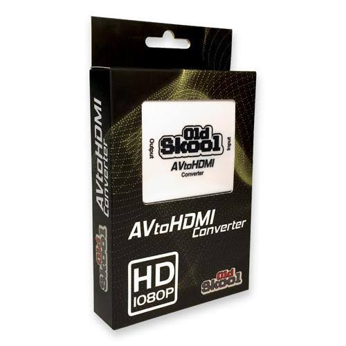 Old Skool AV to HDMI Converter - White