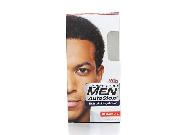 Just for Men Autostop Formula Easy Comb In Hair Color - Jet Black A 60, 1.2oz
