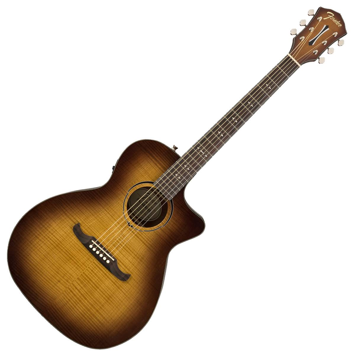 Fender Auditorium Acoustic Eelectric Guitar - 3 Tone Teaburst