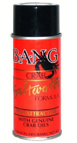 Bass Assassin Bang Fish Attractant Aerosol - Crab Oils, 5oz