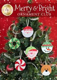 Pea Ridge Christmas Tree Farm by Merry U0026 Bright Ornament Club Pre Fused Laser Cut