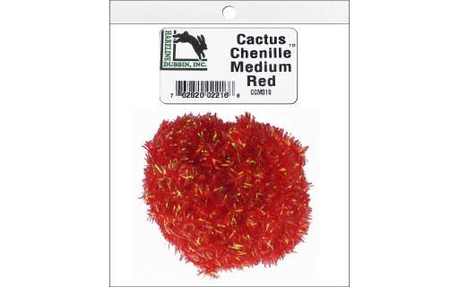 Hareline Cactus Chenille Medium / Red