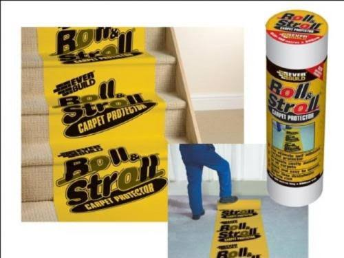 Everbuild - Roll & Stroll Premium Carpet Protector 600mm x 25m