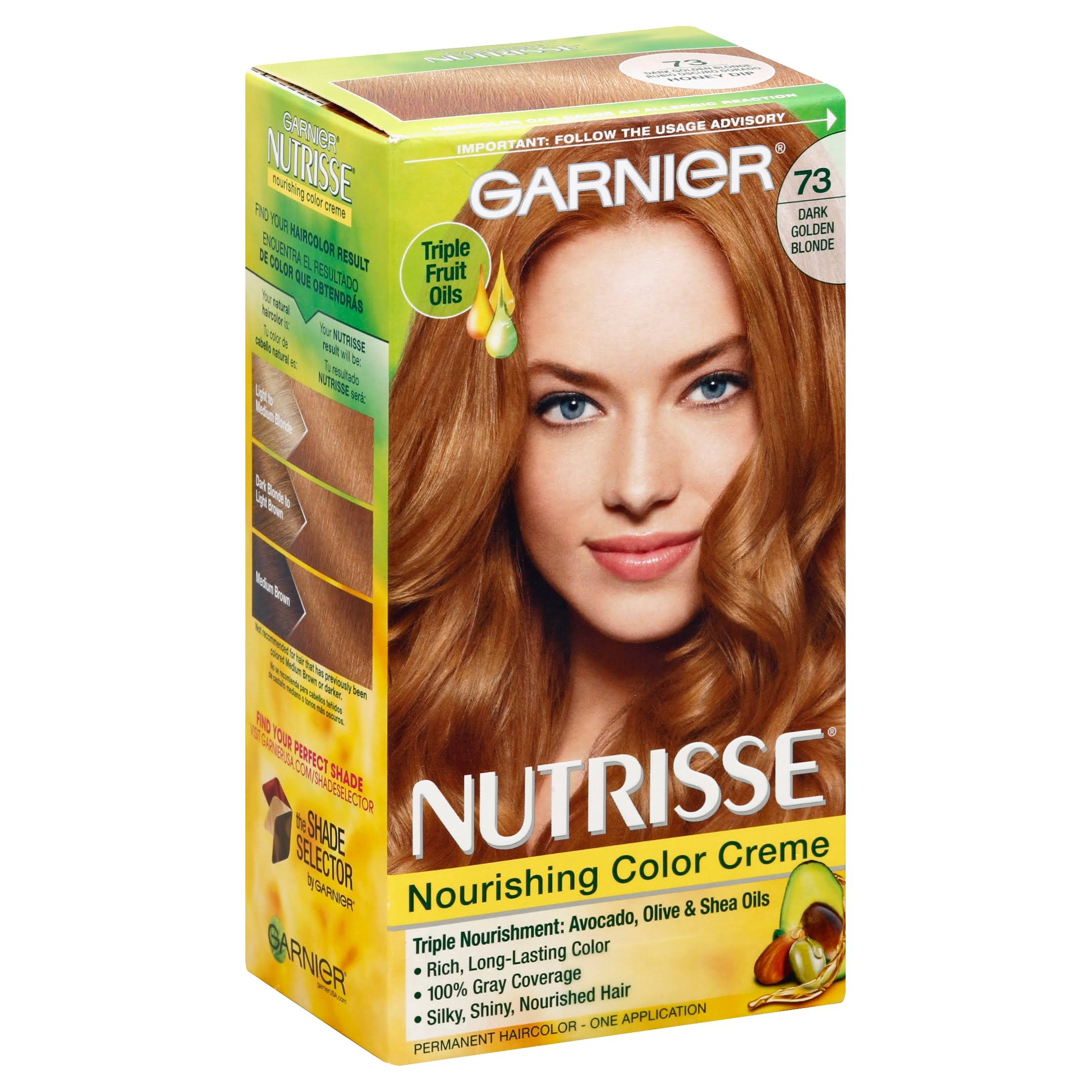 Garnier Nutrisse 73 Dark Golden Blonde Permanent Haircolor