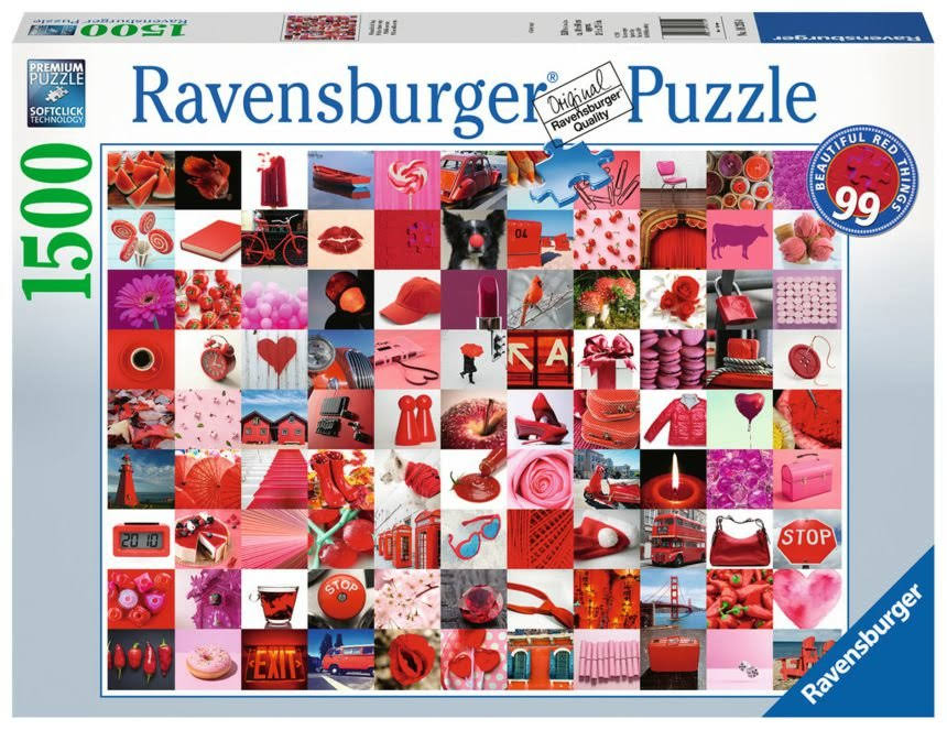 Ravensburger 99 Beautiful Red Things Jigsaw Puzzle - 1500pcs