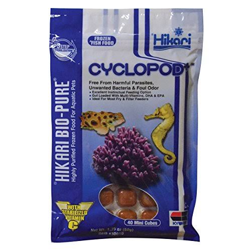 Hikari Bio-Pure Cyclopod+ Frozen Fish Food 1.75 oz Cubes
