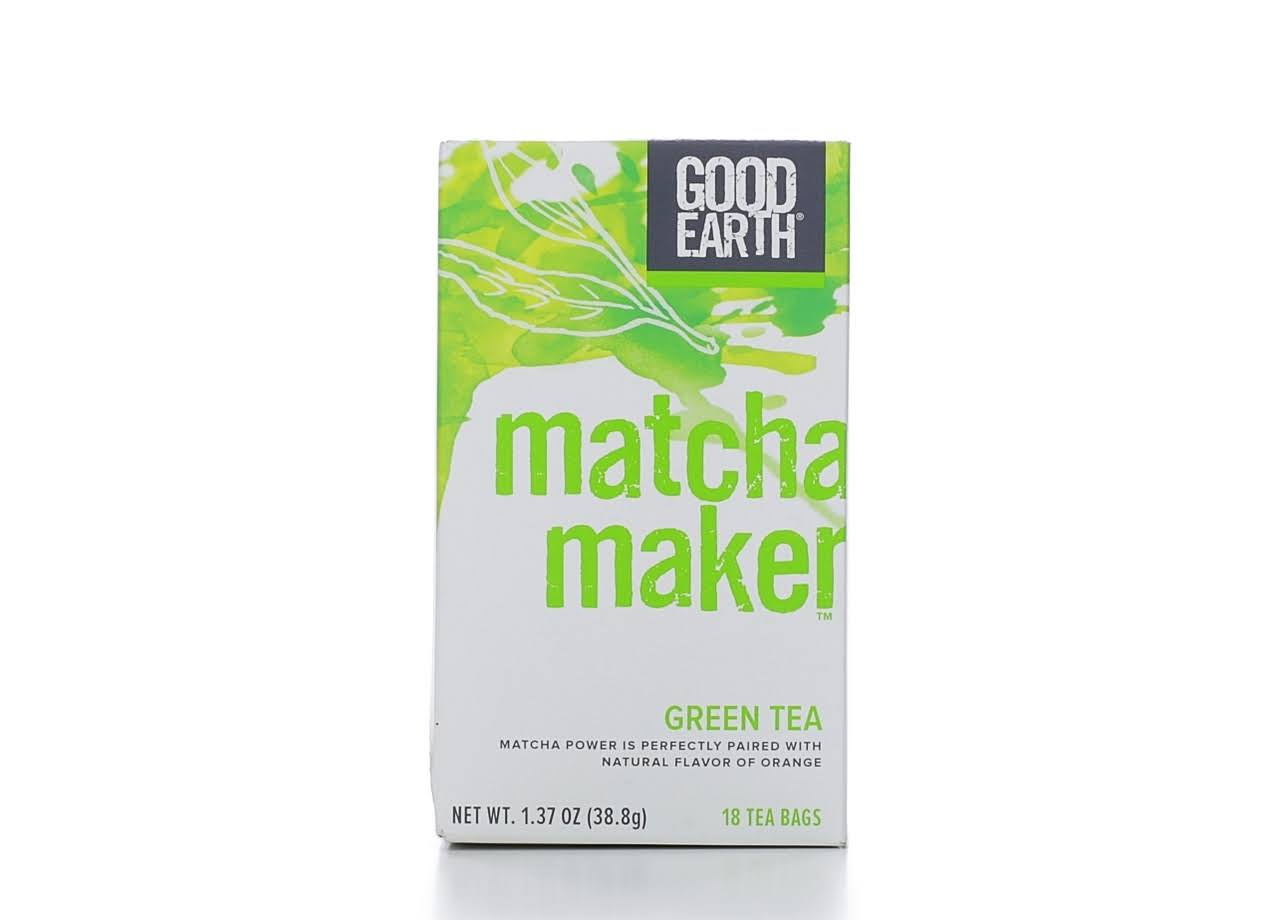 Good Earth Matcha Maker Green Tea - 18ct, 1.37oz