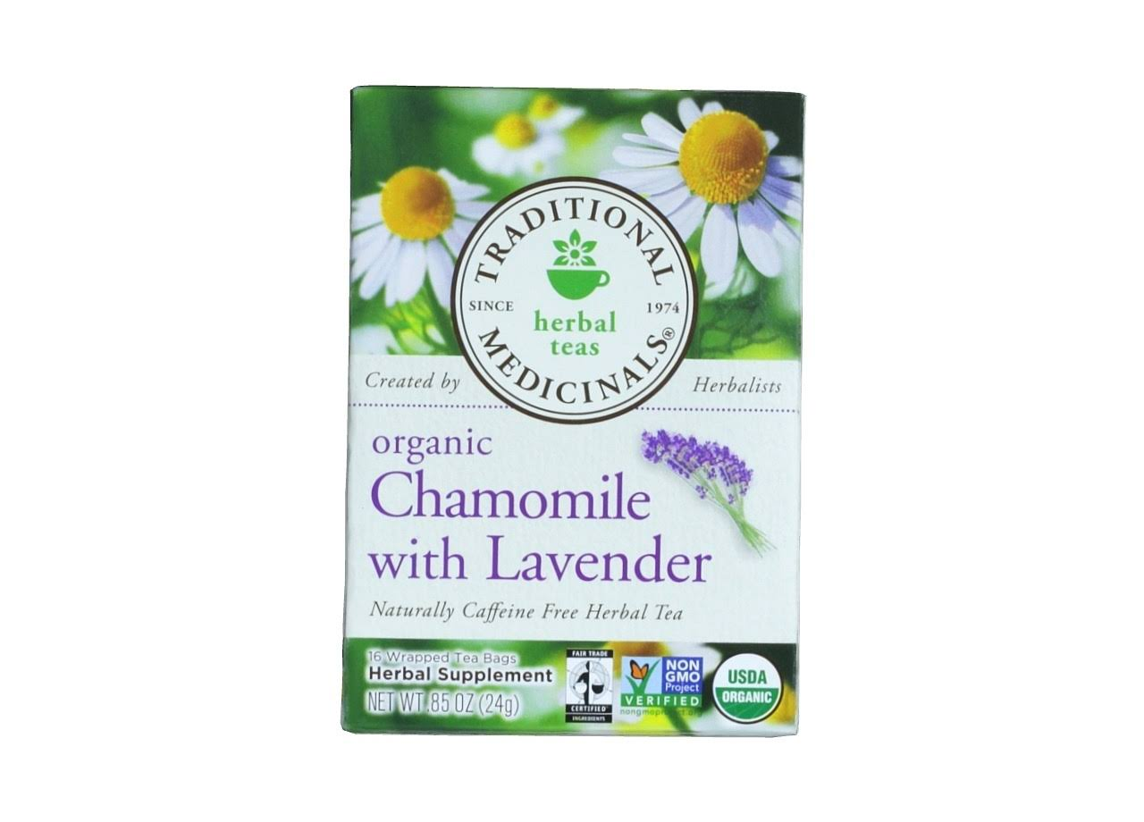 Traditional Medicinals Tea, Organic, Chamomile, Bags - 16 tea bags, 0.85 oz
