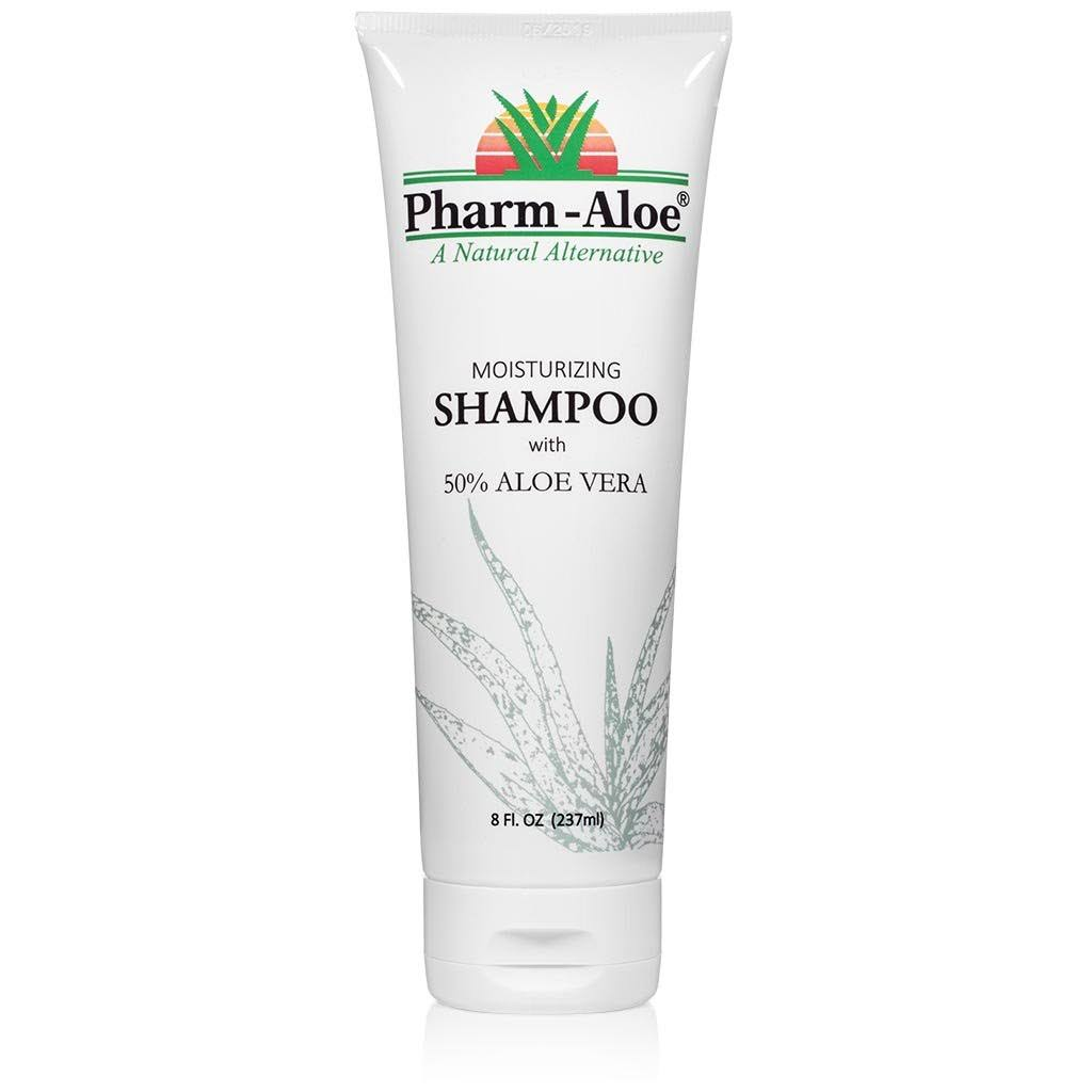 Pharm-Aloe Shampoo - With 50% Aloe Vera, 237ml
