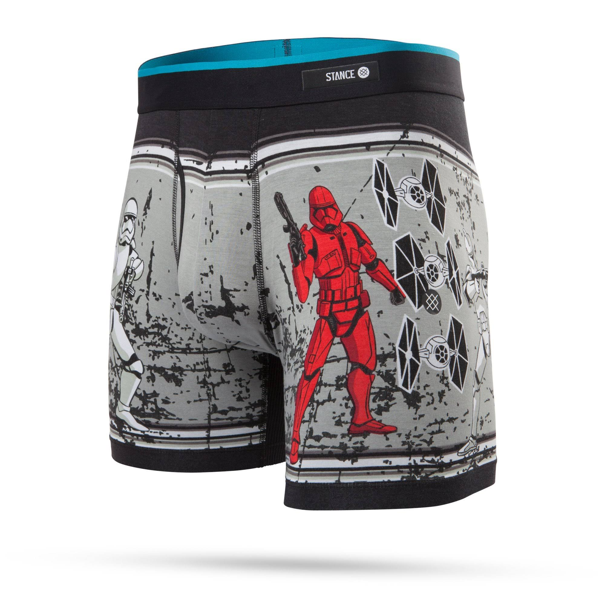 Storm Trooper BB Boxer Brief | Black M | Stance