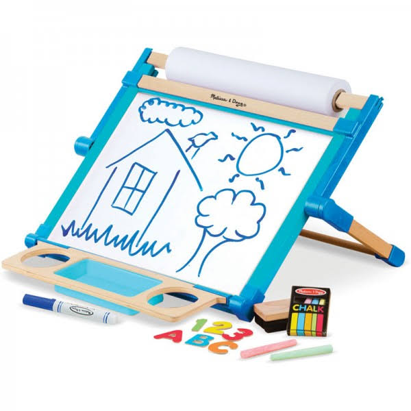 Melissa & Doug Deluxe Double-Sided Tabletop Easel Set