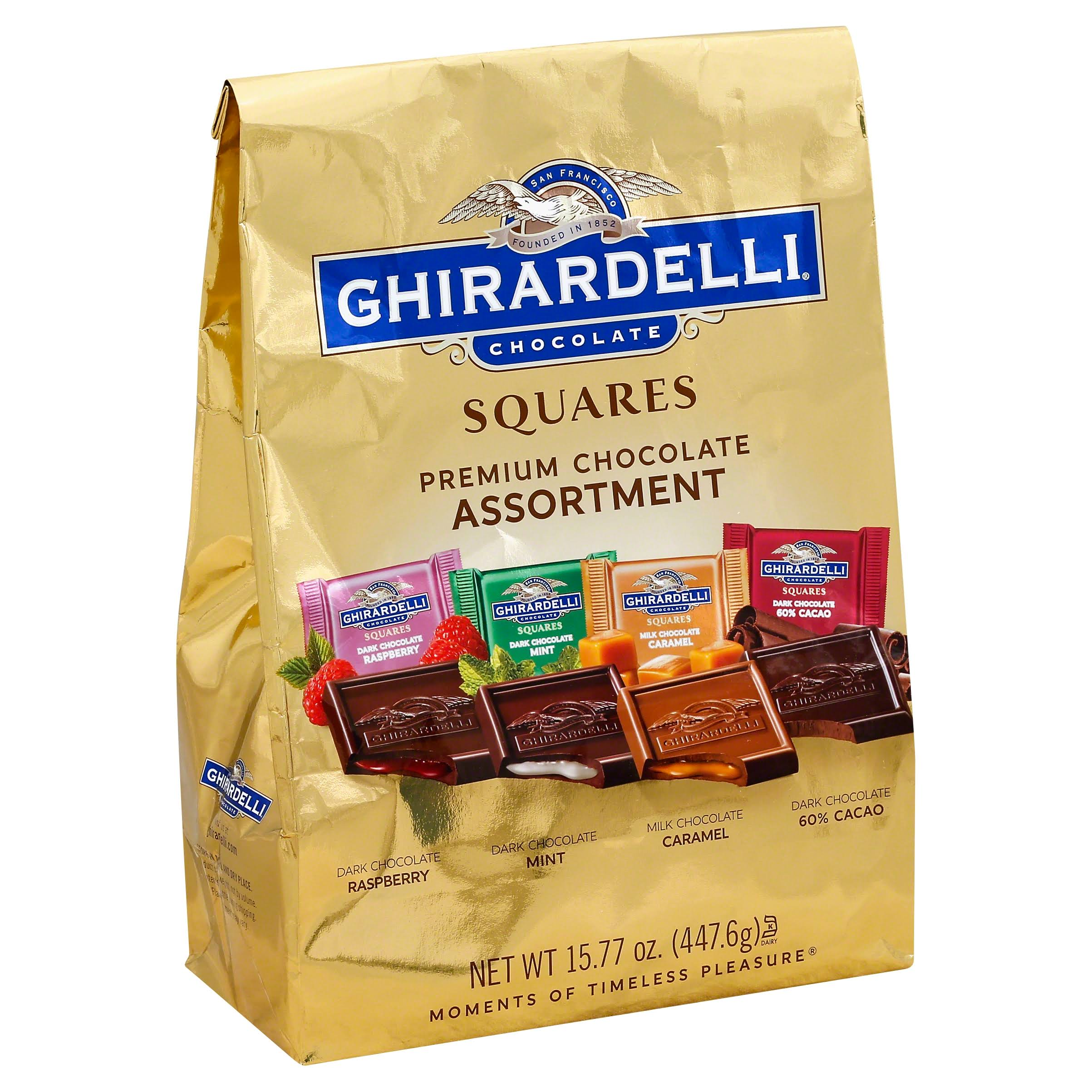 Ghirardelli Chocolate Squares Assortment - 447.6g