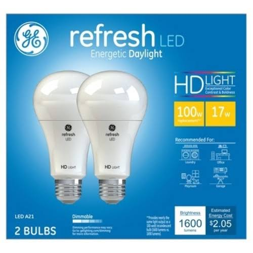 Ge Led Light Bulb - 100W, A21
