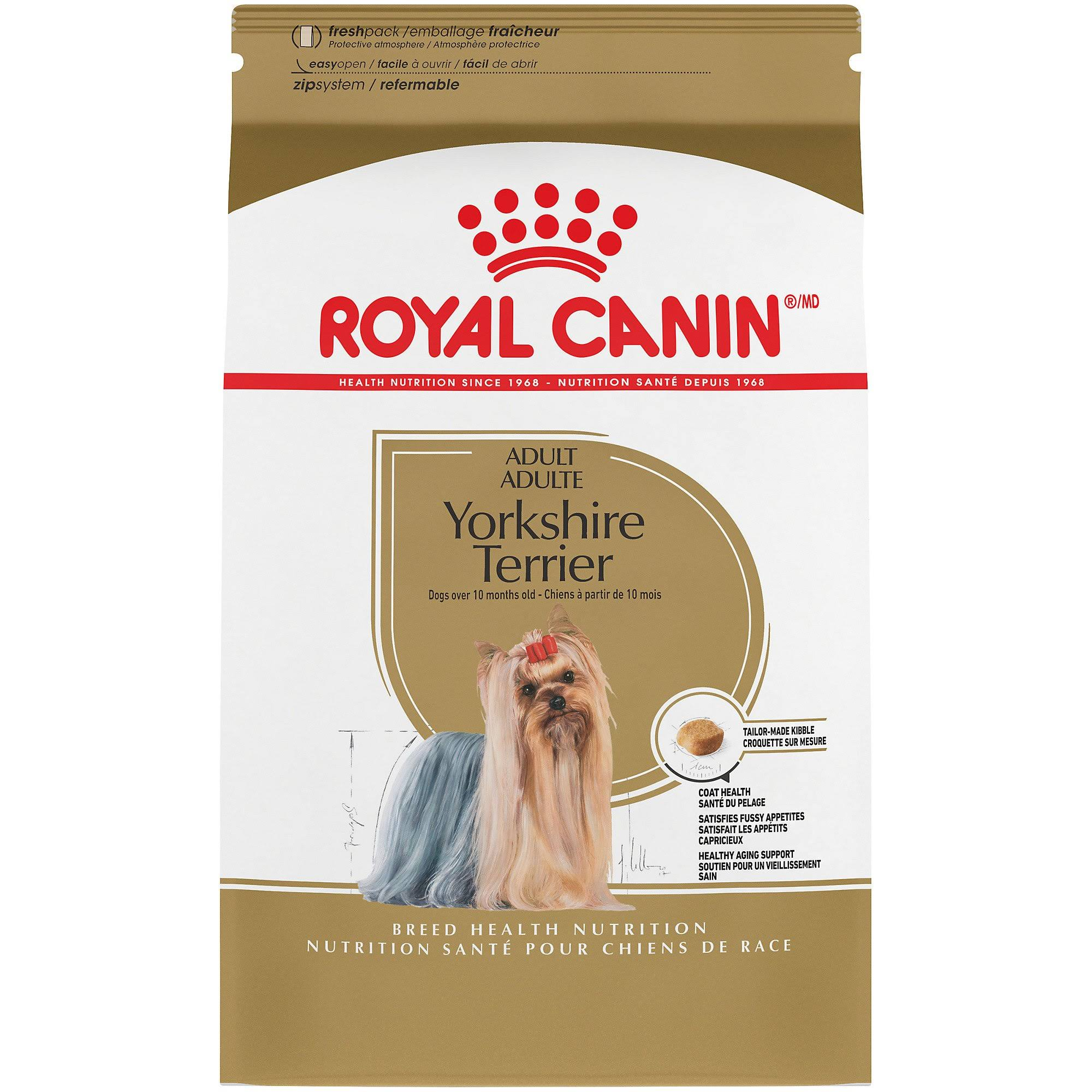 Royal Canin Dry Dog Food - Yorkshire Terrier, 10lbs