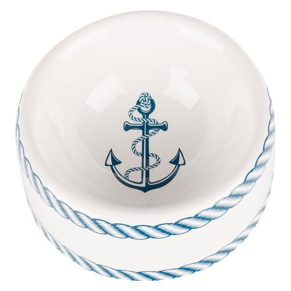 Creature Comforts Nautical Round Dish | ModestMutt.com Small