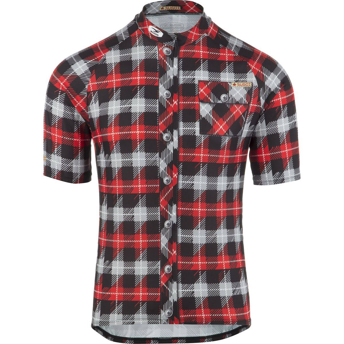 Sugoi Men's Lumberjack Jersey - Black, Small