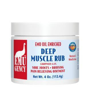 Deep Muscle Rub Herbal Body Balm - 120ml