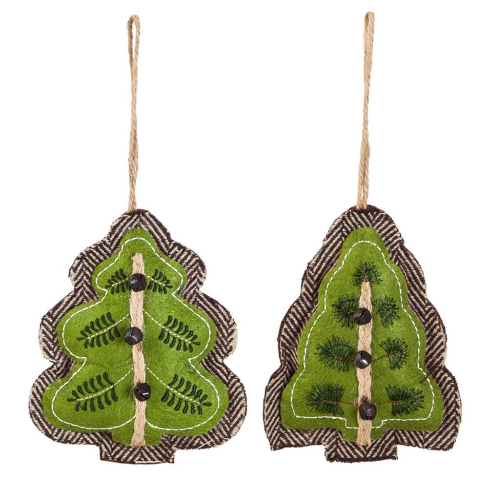 Evergreen Holiday Ornaments - Christmas Tree Ornament