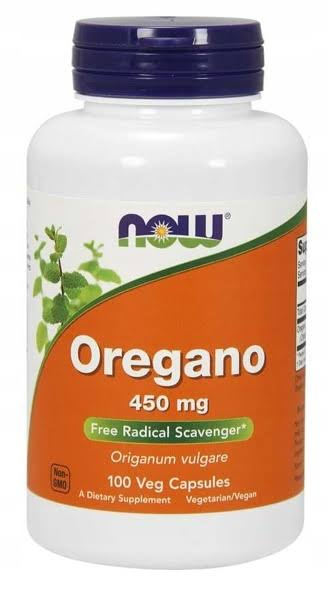Now Foods Oregano Dietary Supplement - 100 Capsules