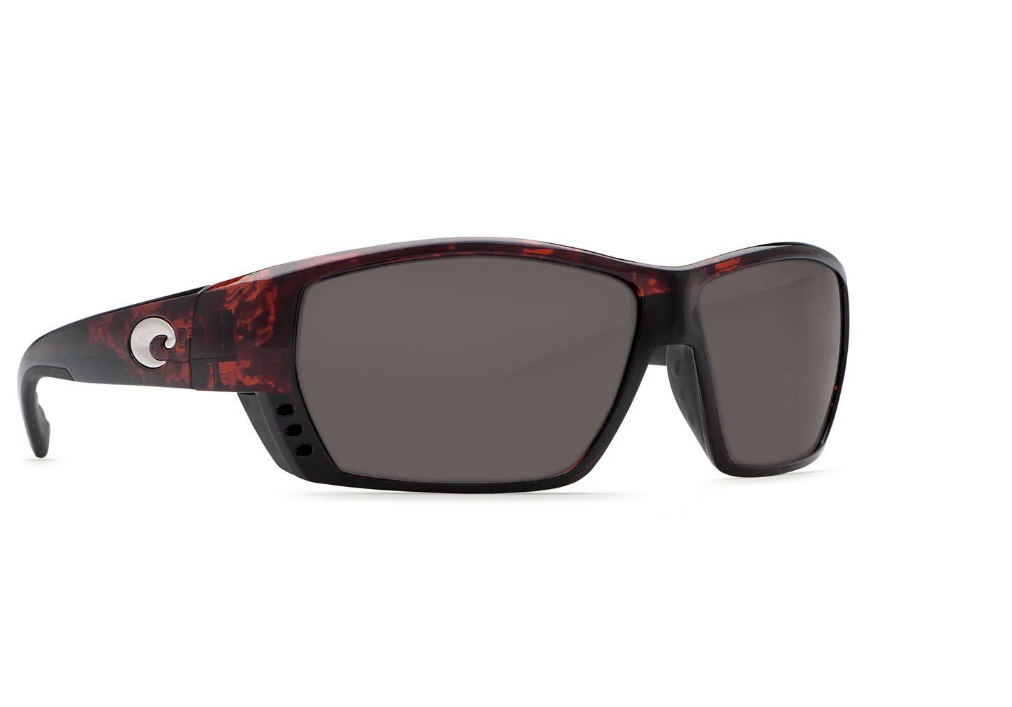 Costa Del Mar Tuna Alley Polarized Sunglasses - Tortoise Frame